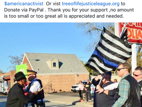Donate Today,Partner w/ Tree of Life Justice League to help usadvocate for Police Reform.