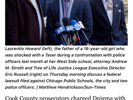 Justice for 16yr old studentDenigma Howard ,punched ,drug down concrete stairs ,beaten and tased 3x