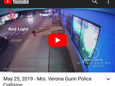 Reckless Chicago Policing of Black community results death of 84 yr old Verona Gunn .