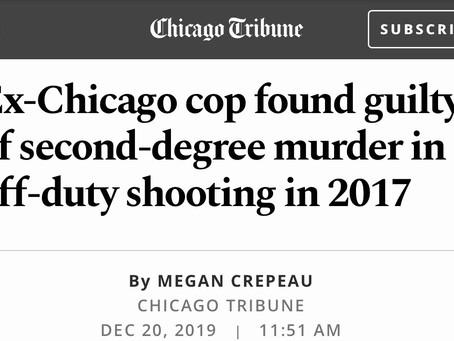 Justice Served ! Killer Chicago Police Officer found Gulity !!!