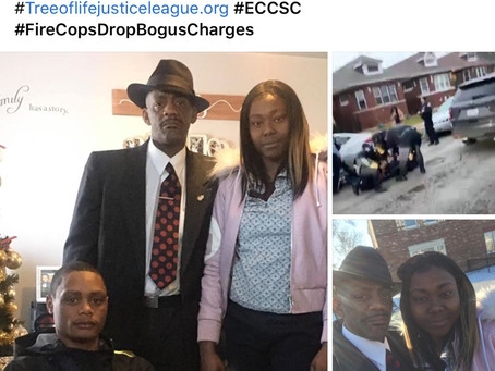 A group of rouge whiteChicago Police officersbrutalize and traumatize young blackcouple setting i