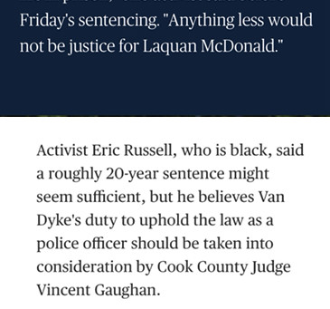 Maximum sentencing sought for Chicago racist killer cop .