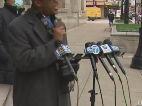 American Activist Eric Rusell demands Mayor Lightfoot,s  resignation