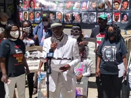 Racist Chicago Corporation Counsel Mark Flessner refuses to acknowledge the dozens of George Floyd
