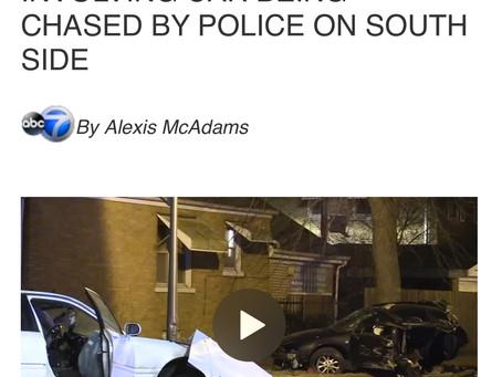 2 yr old dead after Reckless police cash .