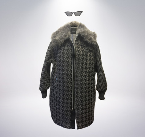 Atelieri Houndstooth coat