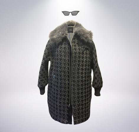 Atelieri Houndstooth coat