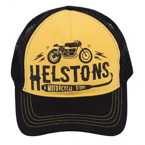 Helstons Cafe Racer Žlutá