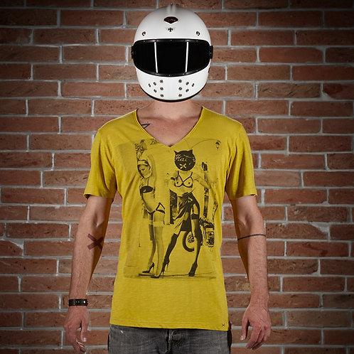 T-Shirt V-Neck Fanny