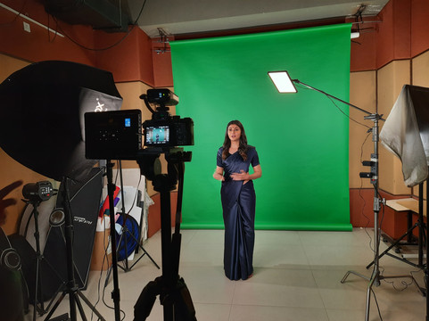 BTS from The Delhi London Poetry Foundation Video Shoot