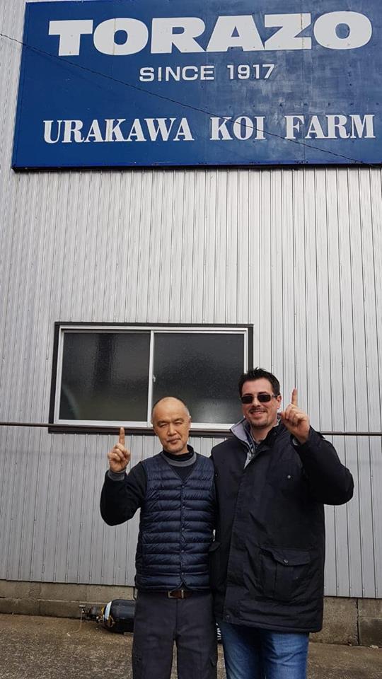 With Tsuyoshi Kawakami