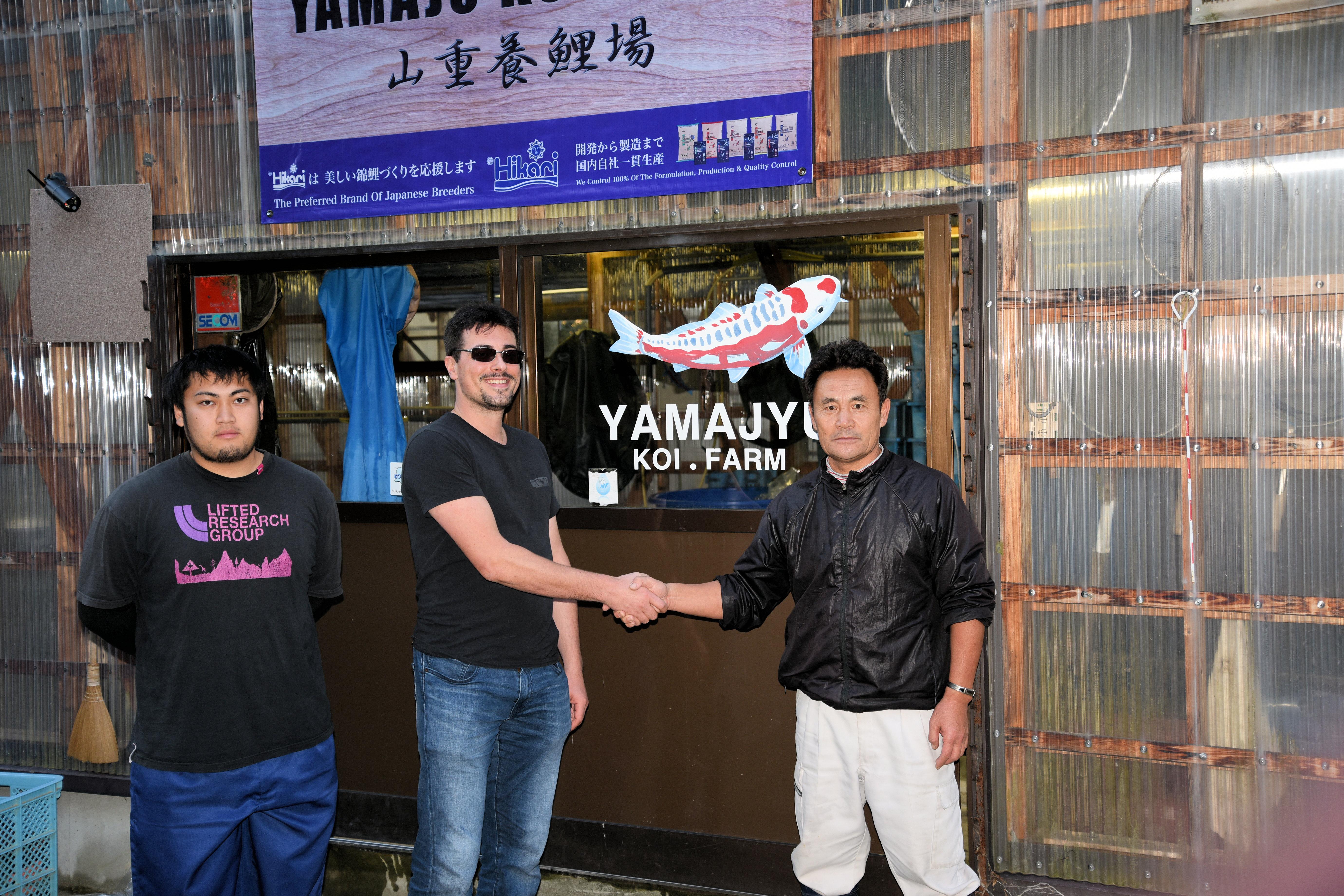 Yamajyu Koi Farm