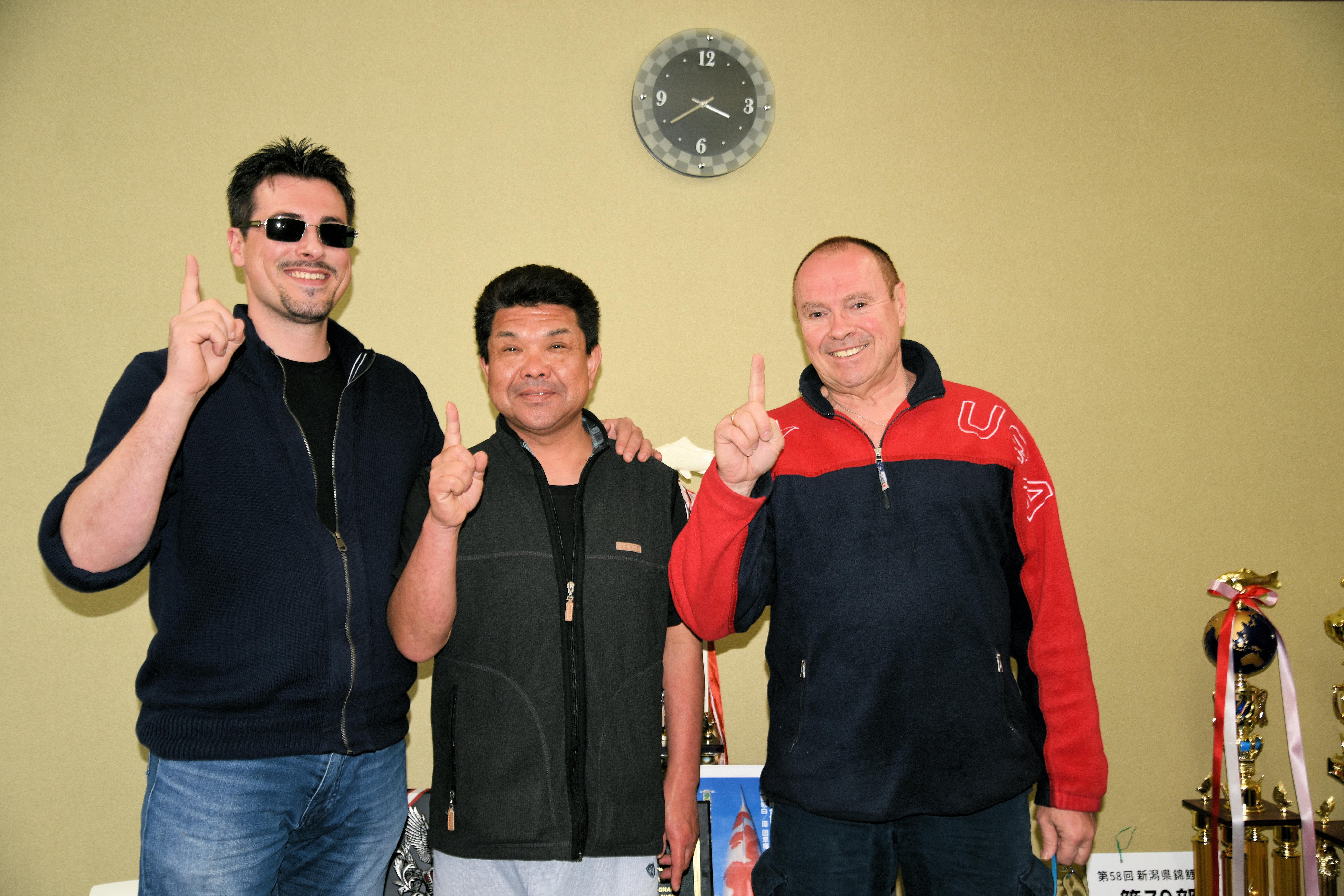 With Shinji Murata
