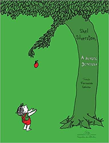 """Capa do livro """"A árvore generosa"""""""