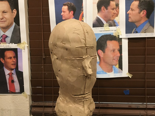 Patriot Awards or Bust! How I sculpted Brian Kilmeade.