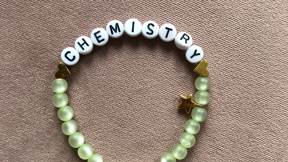 """Bracelet """"Chemistry"""""""