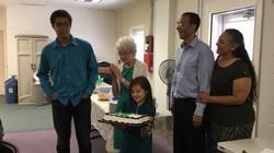 Potluck Birthday celebration