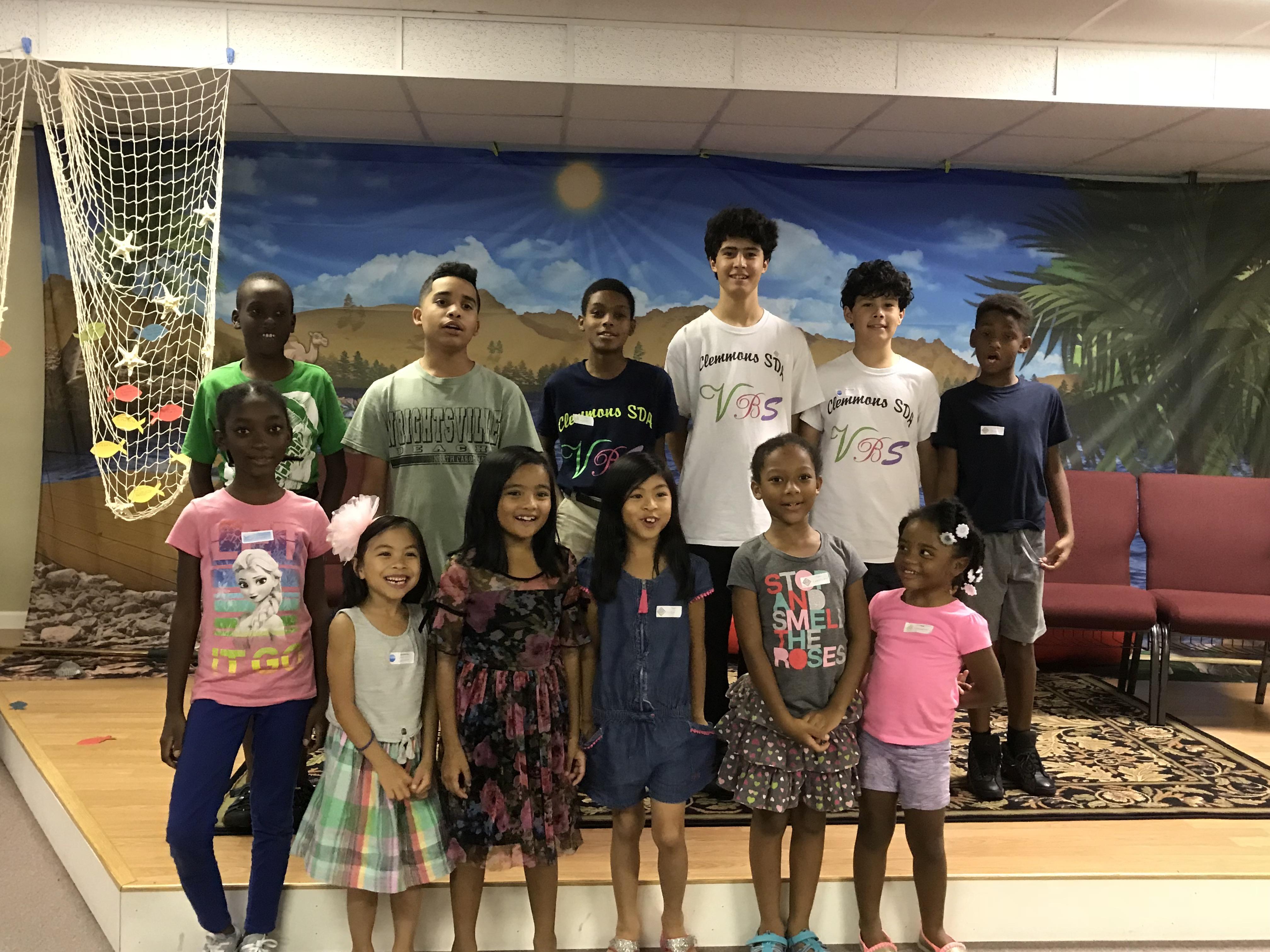 VBS participants