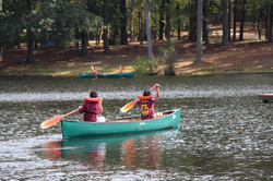 Pathfinder Camporee-canoeing