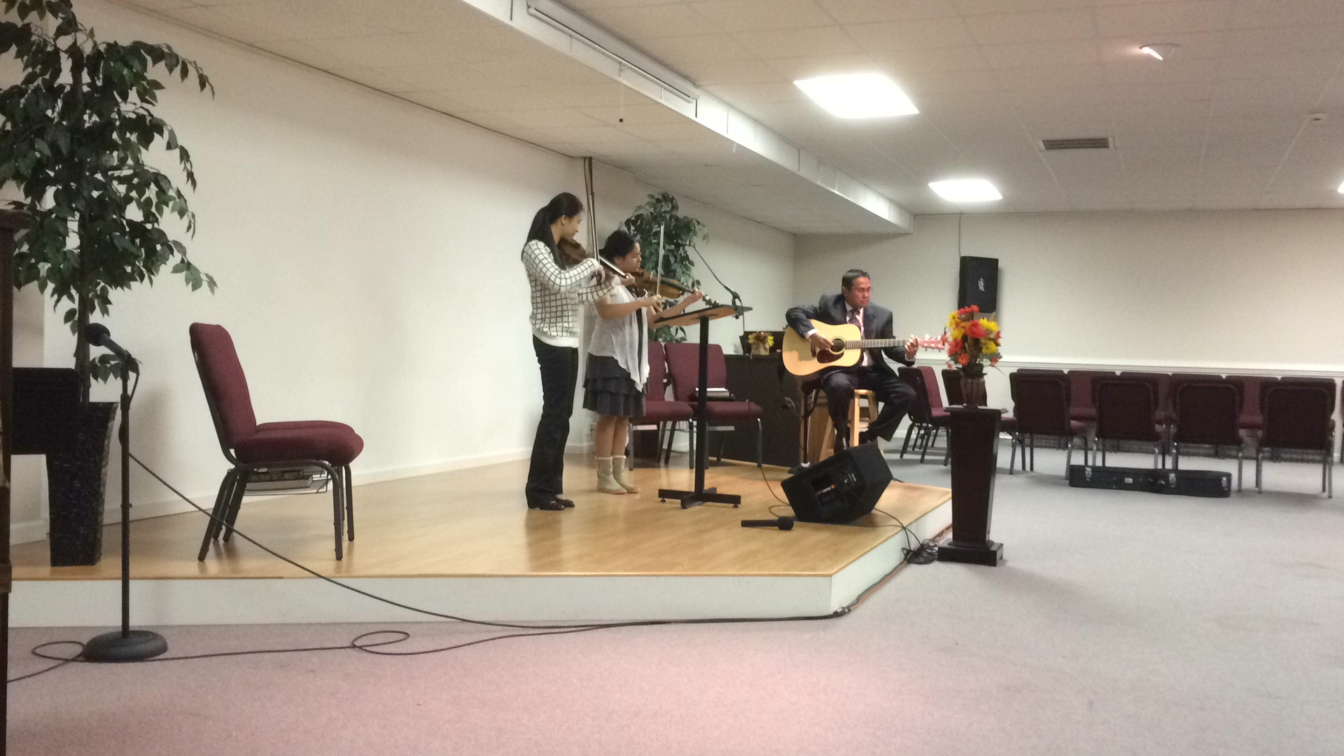 Praising God with music