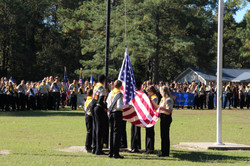 Pathfinder Camporee-flag