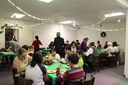 Christmas program potluck