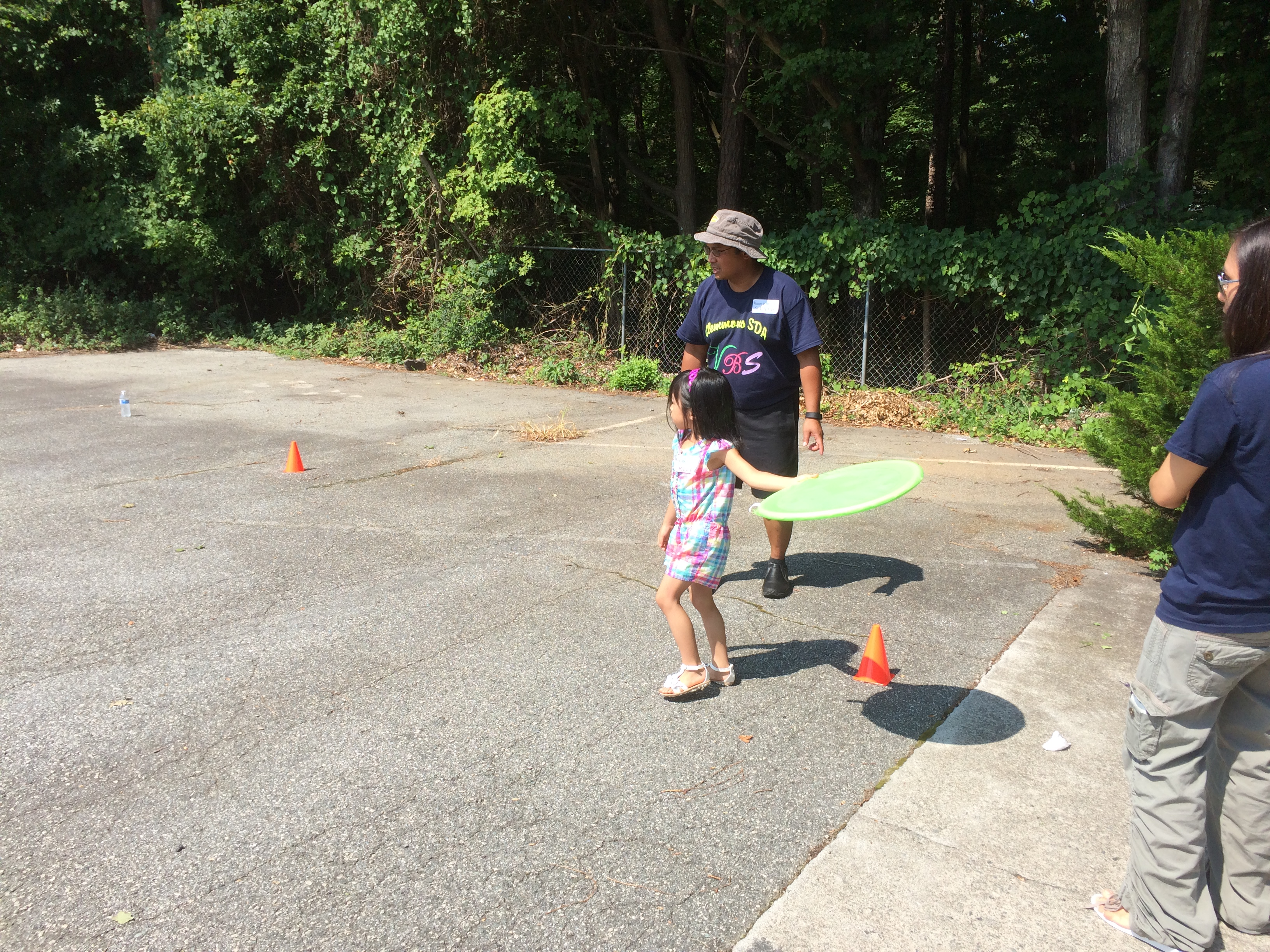 VBS obstacle course