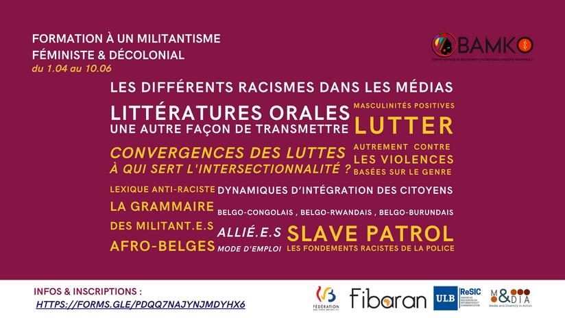 formation à un militantisme féministe & décolonial - FR