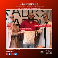 #HijabisFightBack : lever l'interdiction  du port des signes convictionnels  dans les écoles