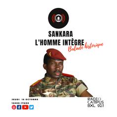 Balade historique : Thomas Sankara, l'homme intègre Balade historique : Thomas Sankara, l'homme intègre