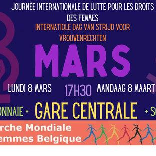 JOURNÉE INTERNATIONALE DE LUTTE POUR LE