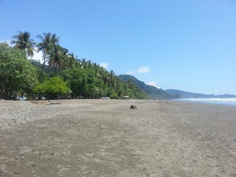 Beach at Dominical