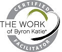 Certified Facilitator stamp for The Work o Byron Katie