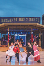 Take in a barn dance