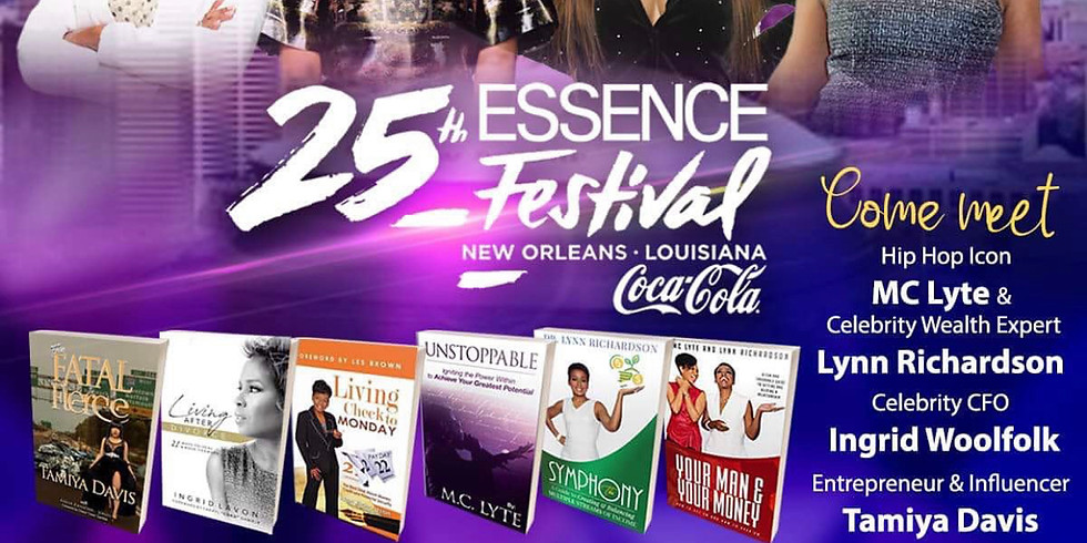 25th Essence Festival Author Book Feature