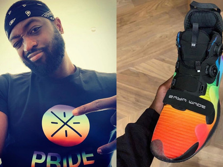 Dwyane Wade Celebrates Pride Month, Reveals New   Custom 'Zaya Wade' Sneakers
