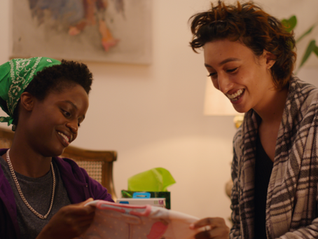 """Award-winning Film """"Pink & Blue"""" Shares Never-Before-Told Story of a Trans Couple of Color Parenting"""