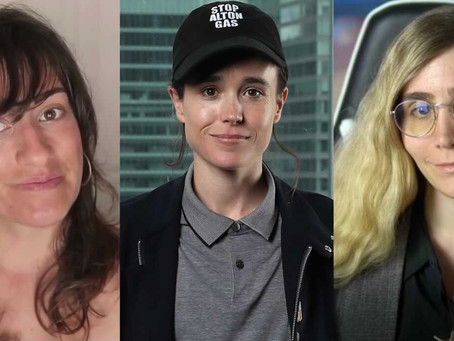 "YouTubers Spar Over Elliot Page Coming Out as Trans, ""Why are We Losing Biological Women Lesbians?"""