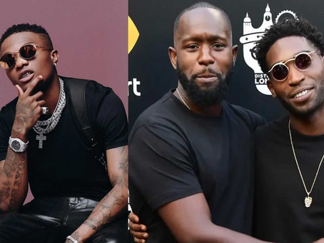 Rapper WizKid Threatens Tinie Tempah and Manager Dumi Oburota Over Money, Alleges They Are Gay