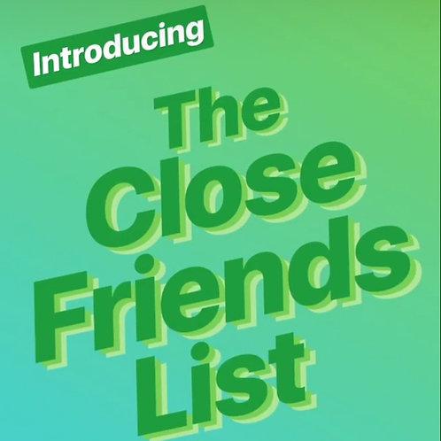 Gaye Magazine Close Friend