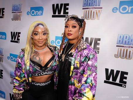 """Da Brat & BB Judy Host Watch Party for their New Reality TV Show """"Brat Loves Judy""""  Exclusive Photos"""