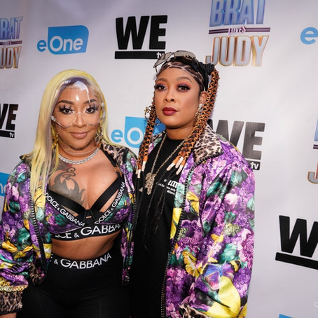 """Da Brat & BB Judy Host Watch Party for their New Reality TV Show """"Brat Loves Judy"""" 