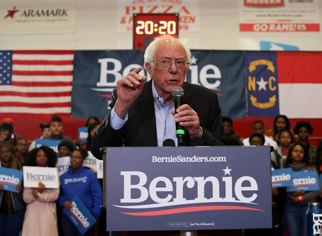 Actor Danny Glover, Susan Sarandon, and Senator Nina Turner Attends Campaign Rally of Bernie Sanders