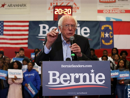 Actor Danny Glover, Susan Sarandon, and Senator Nina Turner Attends Campaign Rally of Bernie Sanders