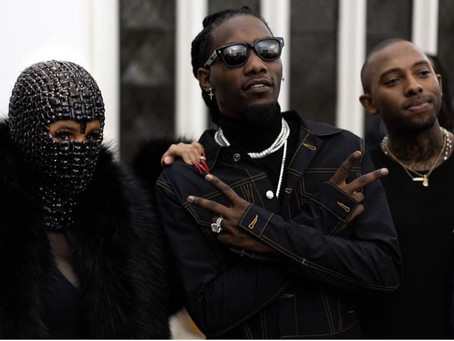 Rapper Offset Kicks Off Paris Fashion Week Debuting Clothing Collection Laundered Works Corp