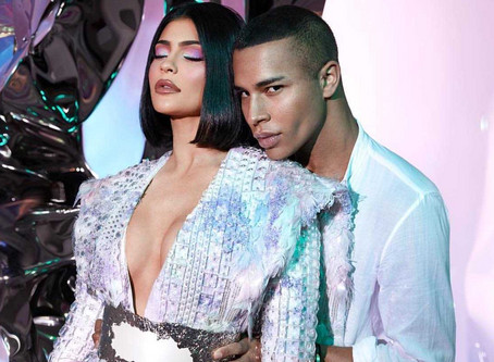 Kylie Jenner Collabs with Olivier Rousteing For Balmain Makeup Collection