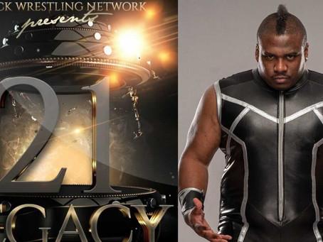 "Tré Melvin to Host Black Wrestling's PPV 21-Year Anniversary ""Legacy"", Pro Wrestler Mr. Grim Debuts"