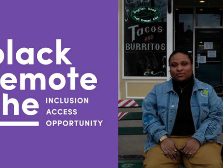 BlackRemoteShe.com: Remote Work Job Site for the LGBT Black Womxn