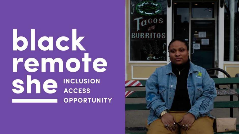 BlackRemoteShe.com: Remote Work Job Site for the LGBT Black Womxn