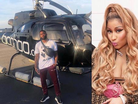 Hairstylist Kellon Deryck Gets Flewed Out by Nicki Minaj Due to Traffic Making Him Late